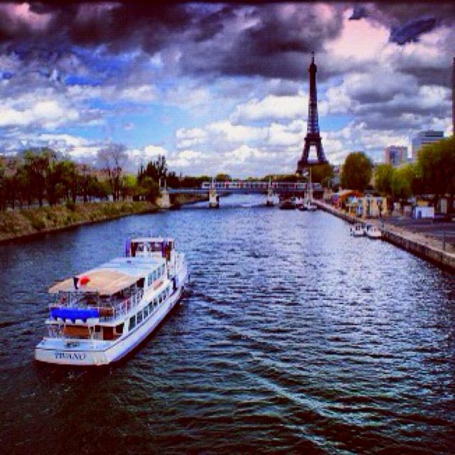 Paris. A spectacular view.