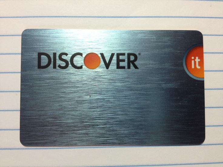 credit card discover network
