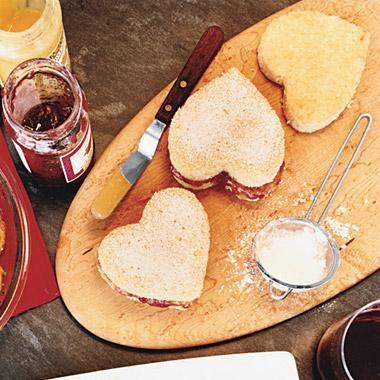 Celebrate with Raspberry-Lemon Heart Cakes.