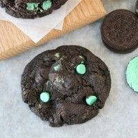 chocolate mint oreo cookies | FAT.. | Pinterest