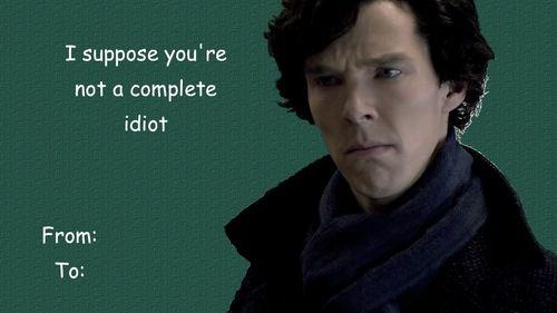 valentine's day sherlock tumblr