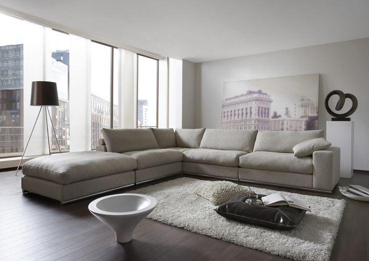Beautiful Woonkamer Hoekbank Contemporary - Moderne huis - clientstat.us