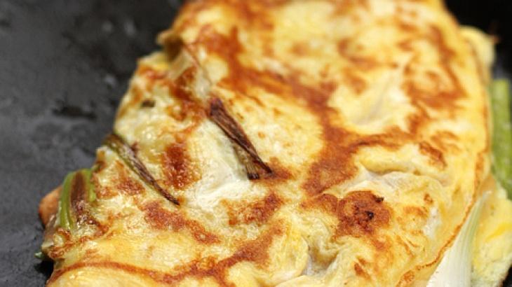 Kimchi Omelet Recipe — Dishmaps