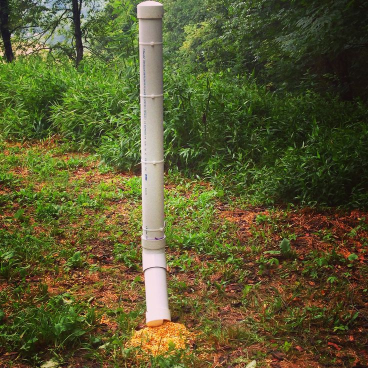 4 inch pvc pipe deer feeder evan 39 s pins pinterest for How to build a deer feeder out of pvc pipe