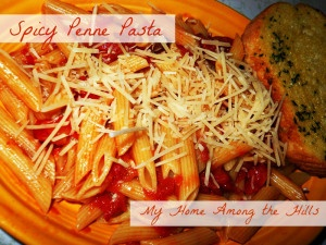 Spicy penne pasta | What's Cookin, Good Lookin?! | Pinterest