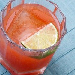 Campari Flamingo - 1 part campari, 3 parts rum, 1.5 parts lime juice ...