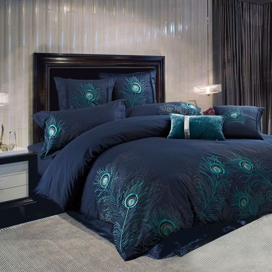 Peacock bedding collection beautiful bedding pinterest - Peacock bedspreads ...