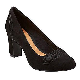Clarks Artisan Women's Tamryn Cider Pumps :: Dress Shoes :: Shop now