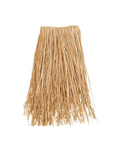 how to make raffia grass skirts