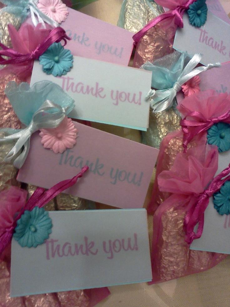 Wedding favors teal and pink future wedding ideas pinterest
