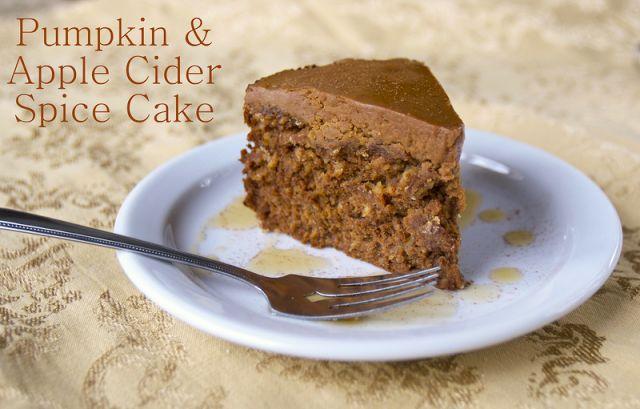 Pumpkin & Apple Cider Spice Cake | Recipe