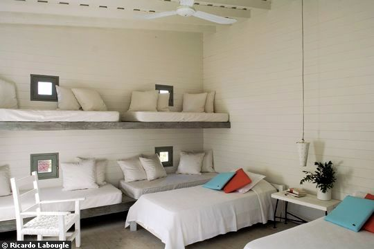 Shared sleeping quarters ohdeedoh in europe - Beds attached to the wall ...