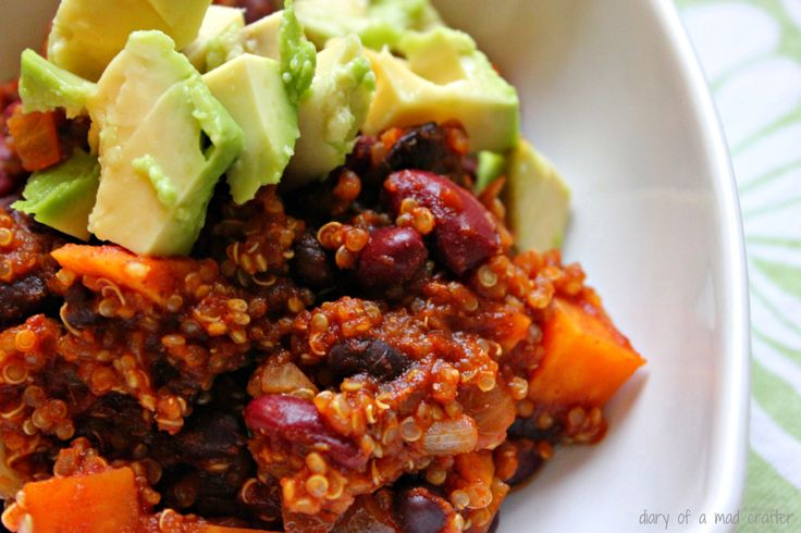 quinoa chili   Nutritional Cleanse Meal Ideas   Pinterest