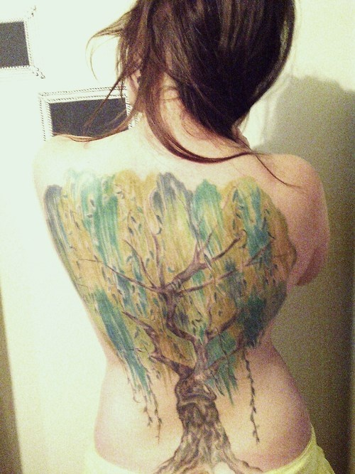 Weeping Willow Tattoo | Blank Canvas | Pinterest