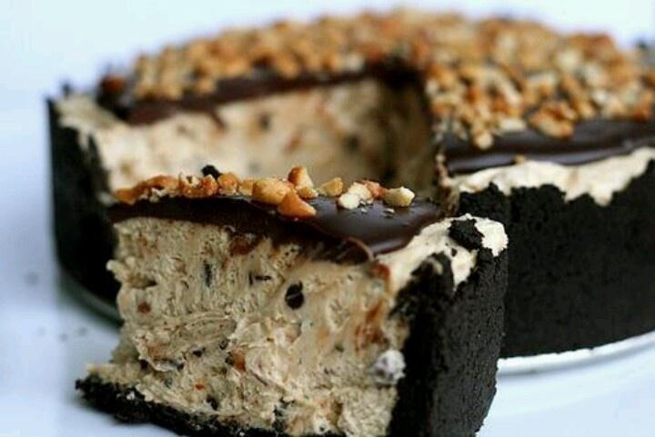 Chocolate peanut butter torte | Yum yums | Pinterest