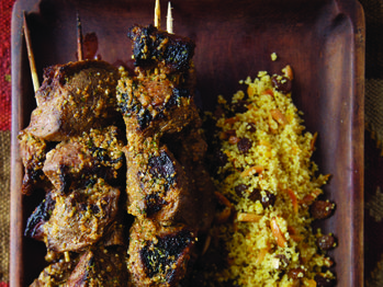 lamb with charmoula lamb kebabs with charmoula citrus dressing recipes ...