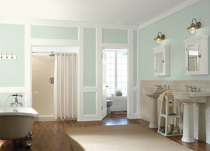 Herbal Mist Hall Bathroom Paint Color For The Home