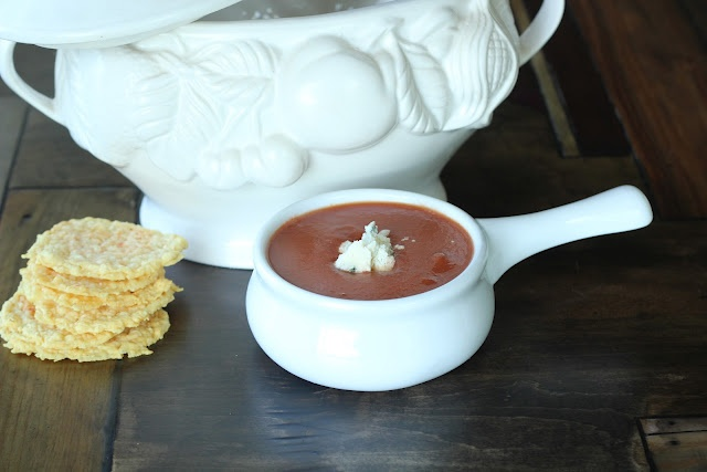Tomato Gorgonzola Bisque | Food: Low Carb or Paleo Soups | Pinterest