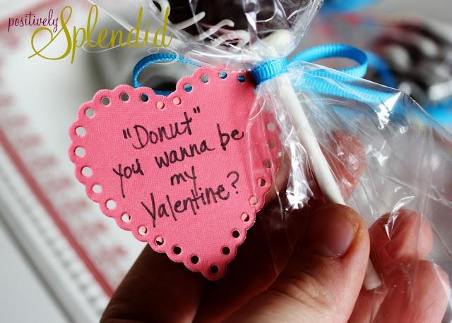 Doughnuts For My Valentine Recipe — Dishmaps