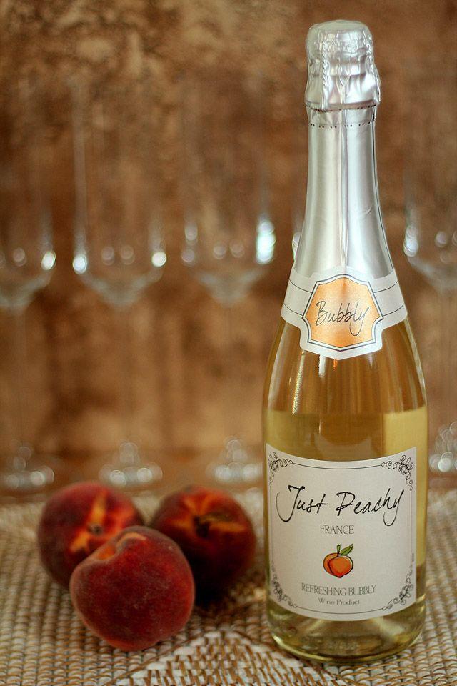 Just Peachy' Peach Bellinis