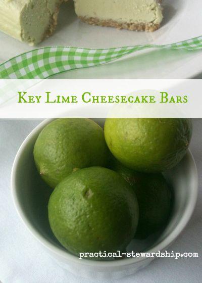 Key Lime Pie Cheesecake Bars, Dairy-Free, Gluten-Free | Recipe