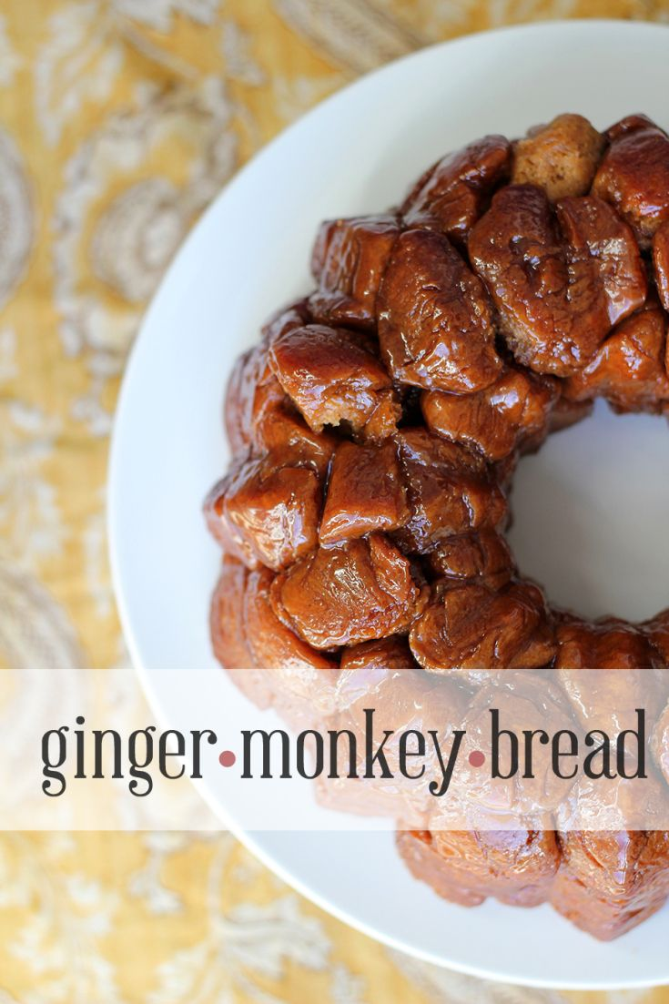 Monkey Gingerbread | Fall and Winter Nom Nom Nom | Pinterest