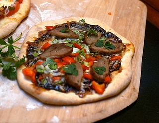 Duck Pizza with Hoisin and Scallions | Pizza | Pinterest