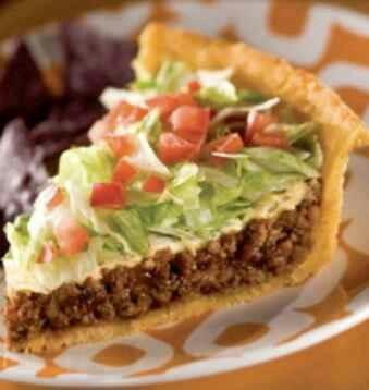 Taco Pie | recipes | Pinterest