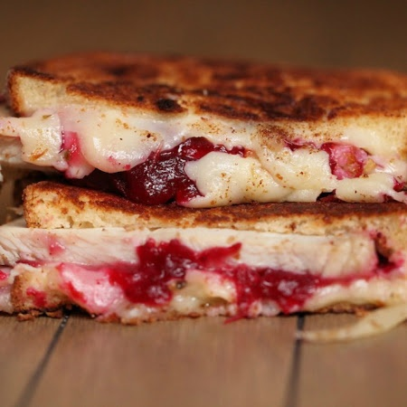 The Ultimate Thanksgiving Leftover Grilled Cheese Recipe | Key ...