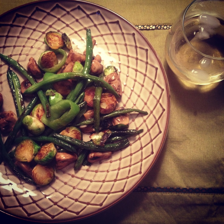 Sesame Green Beans With Mushrooms And Chestnuts Recipes — Dishmaps