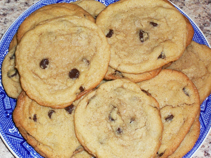 "Big, Chewy Chocolate Chip Cookies | ""C"" is for Cookie... 