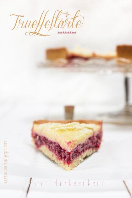 White Chocolate & Raspberry Tart | Sweets & Sugars | Pinterest