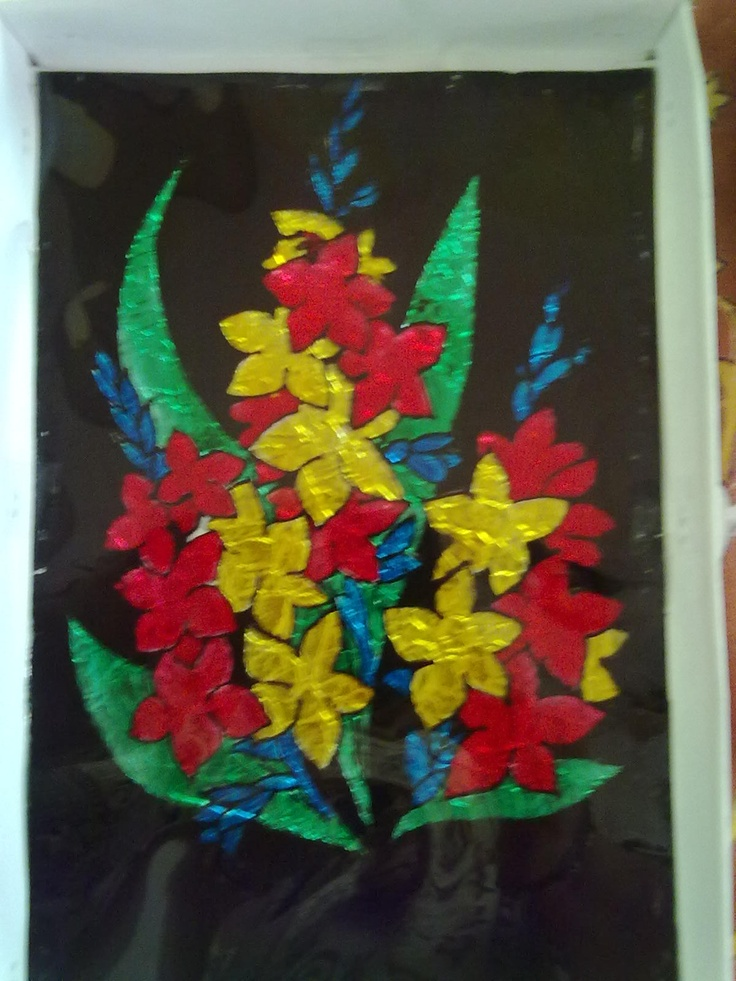 Pin by creative loka on paintings pinterest for Glass painting techniques