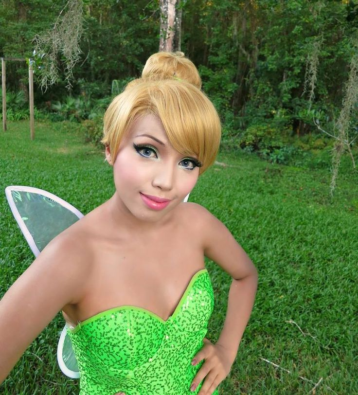 How to Make a Tinkerbell Costume images