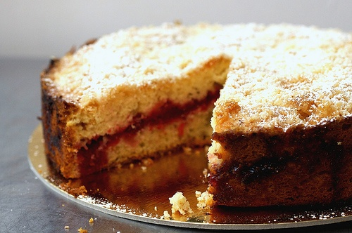 cranberry vanilla coffee cake | deliciousness | Pinterest
