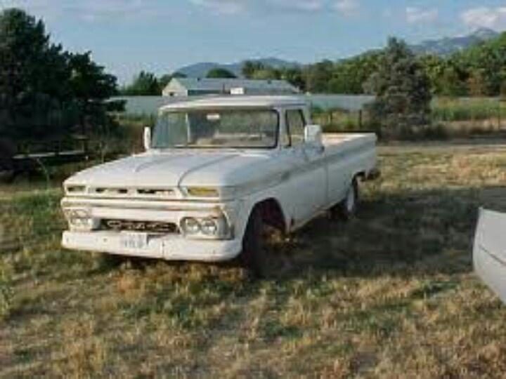 1964 truck 64 66 chevy gmc trucks pinterest
