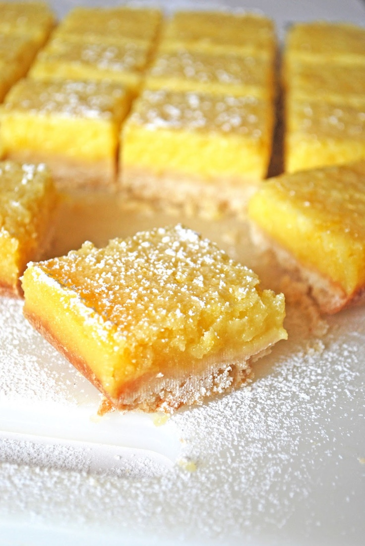 Whole Lemon Bars Recipe — Dishmaps