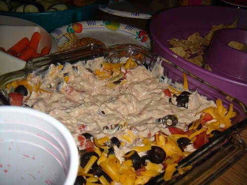 Cheesy Taco Dip | Appetizers and Snacks | Pinterest