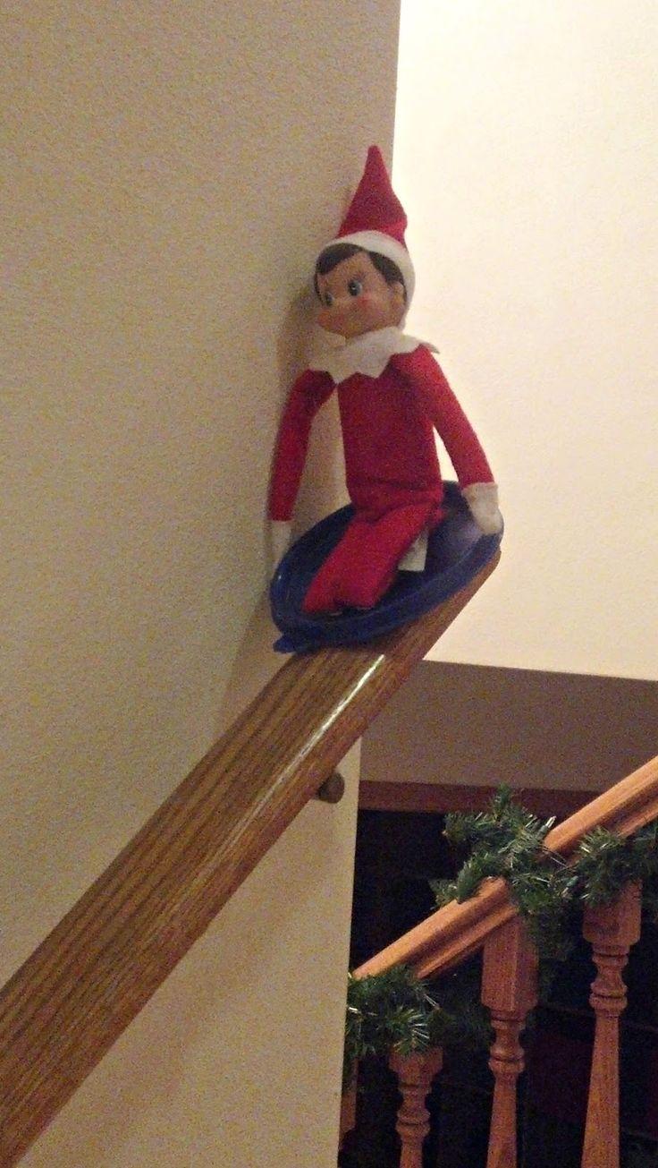 10 Fun Elf On The Shelf Ideas Elf Pinterest