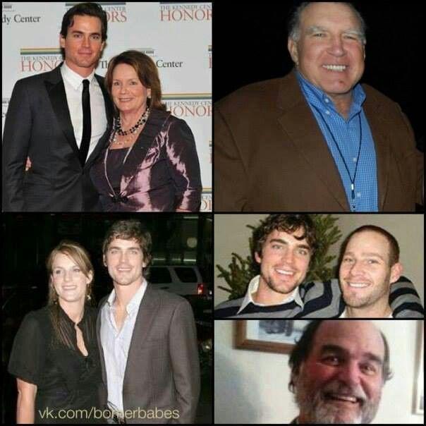 Matt and his family   ...