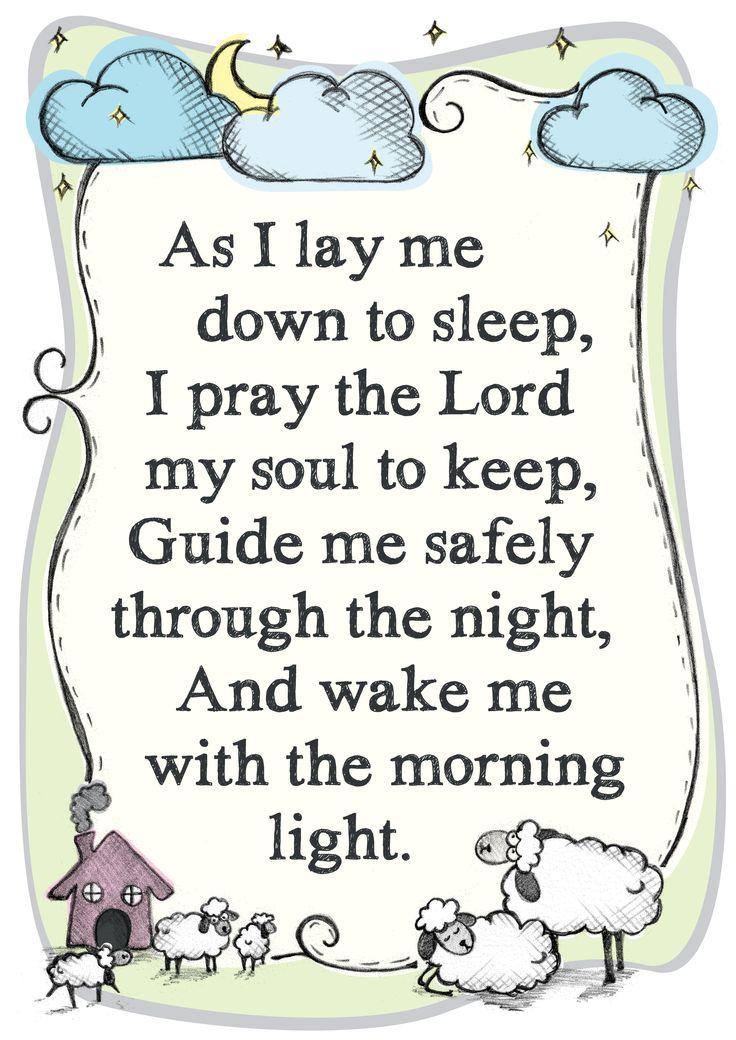 Prayer for a friend s daughter prayer sheep night illustration
