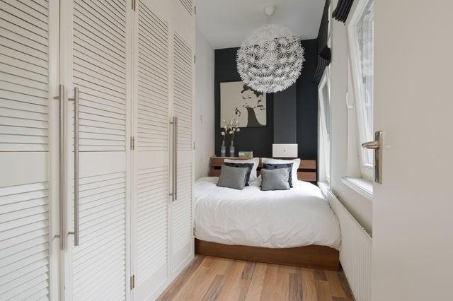 Slaapkamer met kastenwand  VERKOCHT: Nieuwe Prinsengracht 68 II  Pi ...