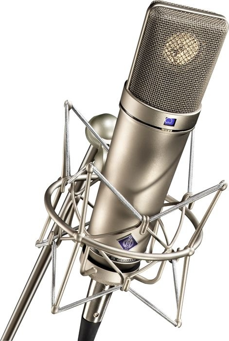 """""""I don't want much. I just want a little bit.""""  Of this action:  Neumann U87 Ai Shockmount Set Z Microphone with Box - $3,599.95.  Aw, man, I'd get you one...."""