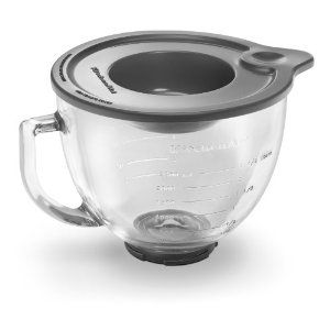 Glass bowl for Kitchen aid mixers