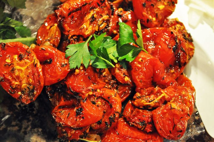 Slow Roasted Tomatoes - Tracy | Tyler Florence's - Gary | Pinterest