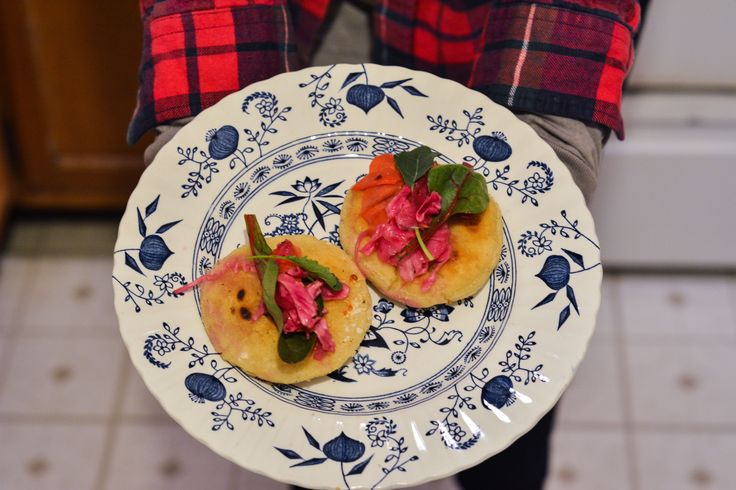 PUPUSAS CON CURTIDO FOR BAILEY AND CHAD//