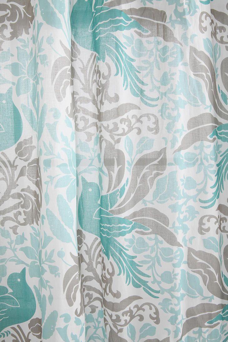 Bird Flourish Curtain