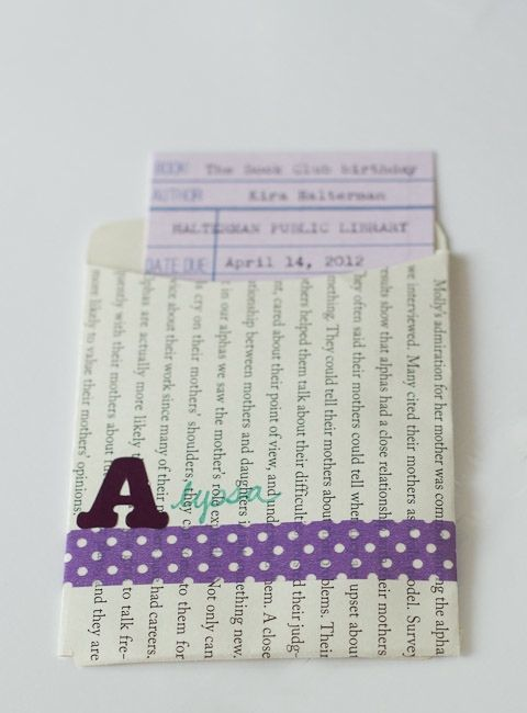 Book Party Invitations