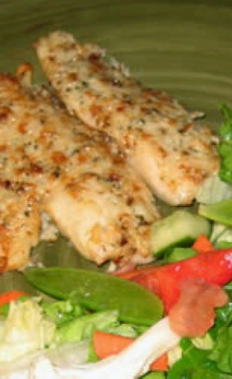 "Broiled Tilapia Parmesan | Excellent! Hubby declared, ""best fish ever ..."