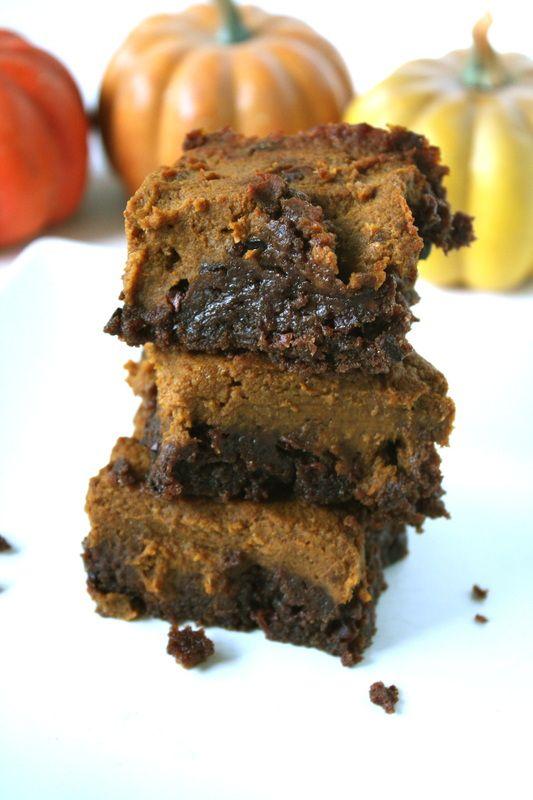 ... Chocolate Pumpkin Swirl Brownies | Passion for Pumpkin! | Pint